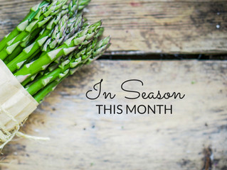 In Season - Asparagus: Chilled Asparagus and Almond Soup