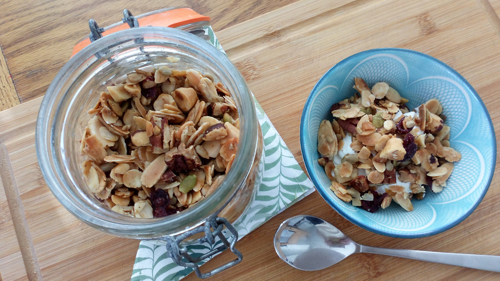 Nutty paleo granola - perfect for breakfast