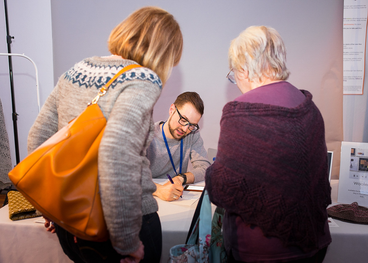 Jared Flood book signing