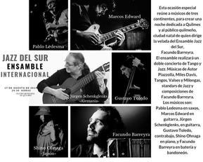 Jazz del Sur Ensemble in Quilmes, Buenos Aires