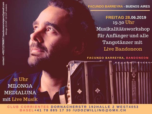 Musicality Tango Workshop by Facundo Barreyra