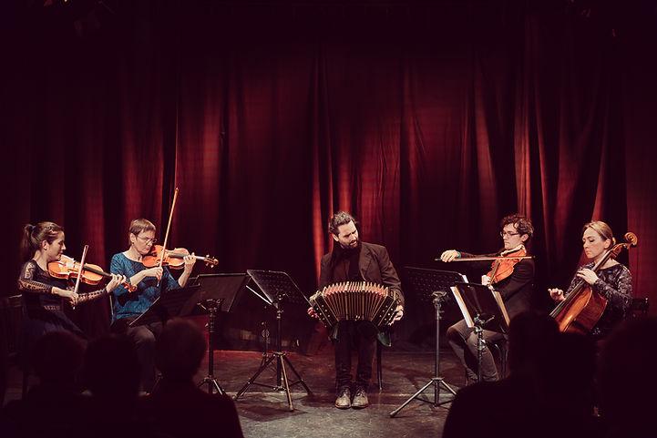 tango chamber music bandoneon string quartet