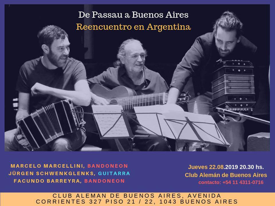 Concert at the German Club of Buenos Aires