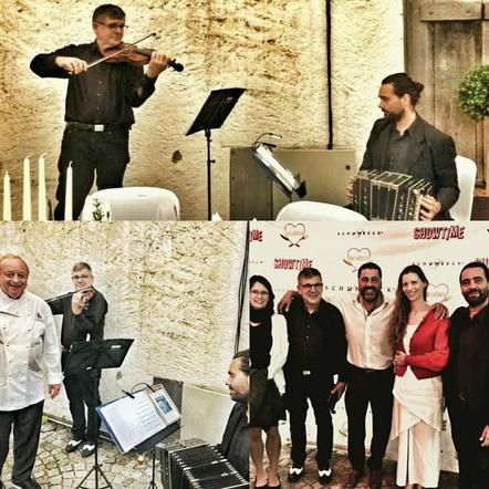 Concert in Schubeck Teatro, Germany, with Bravo Buenosayres Duo.