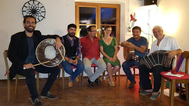 Argentinian musicians meeting in Germany