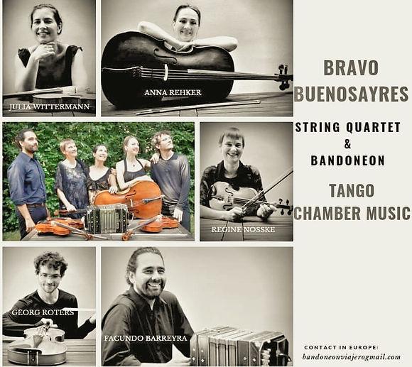 BRAVO BUENOSAYRES STRING QUARTET & BANDO