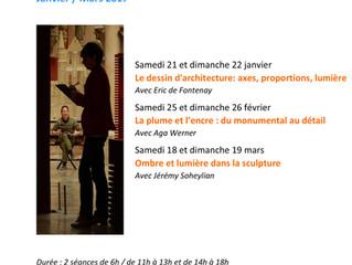 Eric de Fontenay à la Cité de l'Architecture et du Patrimoine