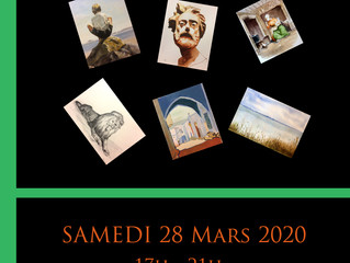 EXPOSITION COURS ADULTES Samedi 28 Mars 17h - 21h