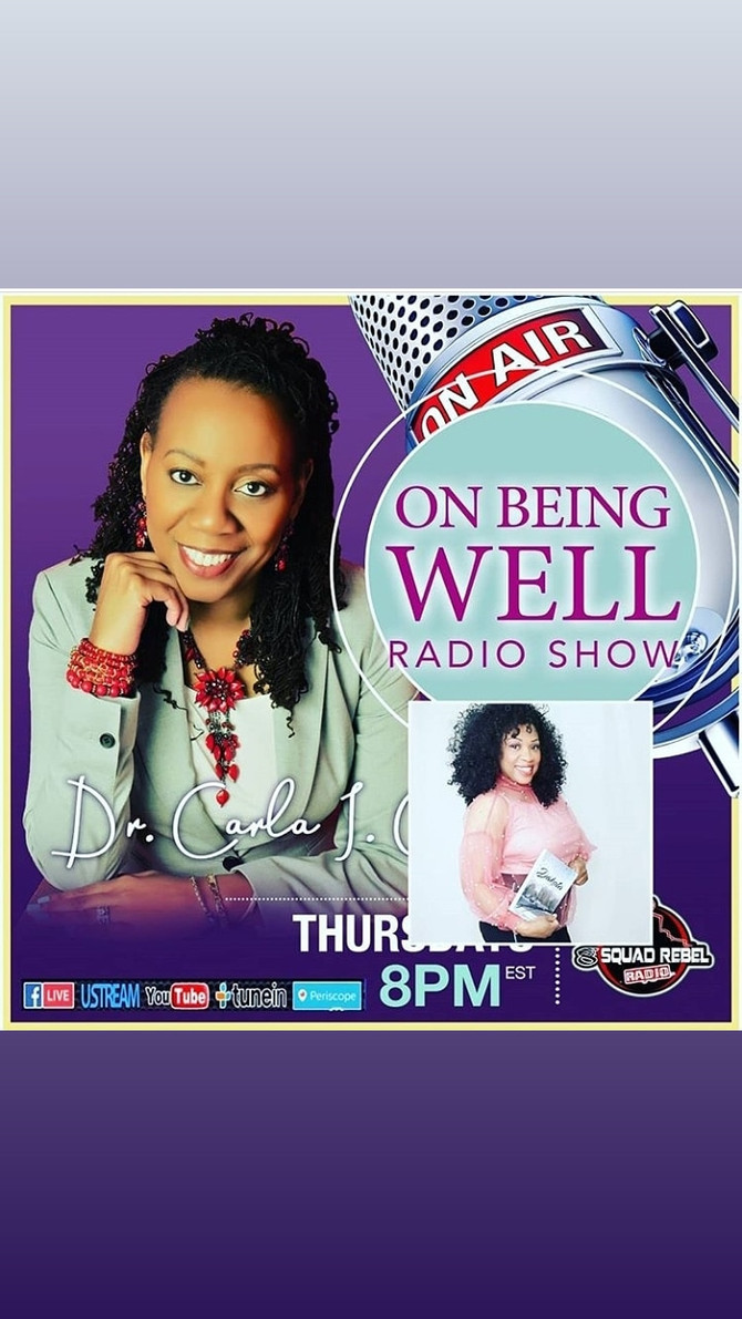 Catch me this Thursday on the On Being Well Radio Show.