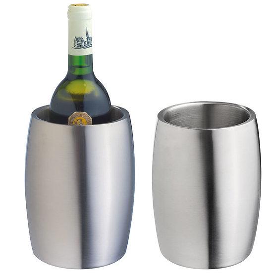 ორმაგი კედლით, უჟანგავი ფოლადის ღვინის ქულერი