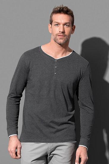 მამაკაცის გრძელსახელოებიანი მაისური  LUKE HENLEY ST9860