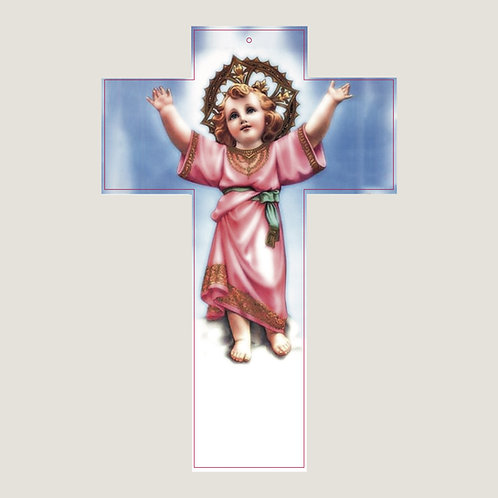 Cruz con El Niño Dios con Oración de Sanación V001 Dólares