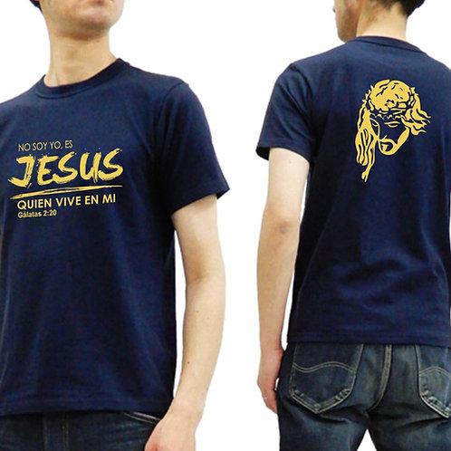 Camiseta Caballero color azul marino. C010 Dólares. Tallas reducidas