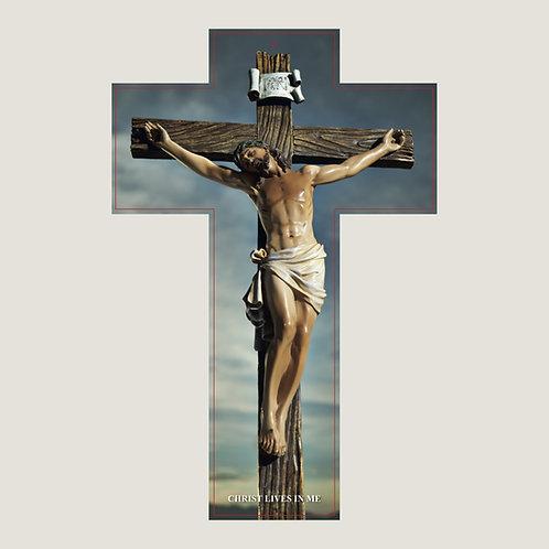 Cruz con Oración de Sanación en INGLÉS V002  Dólares