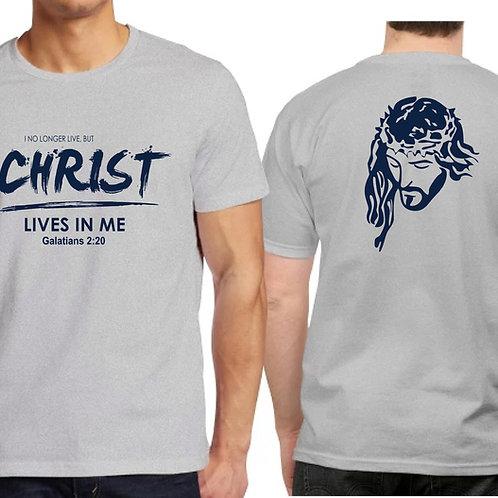 Camiseta Caballero Gris.  C006 Dólares. Tallas reducidas