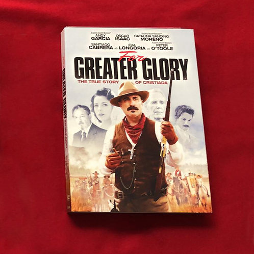 DVD The Greater Glory C005 Dólares