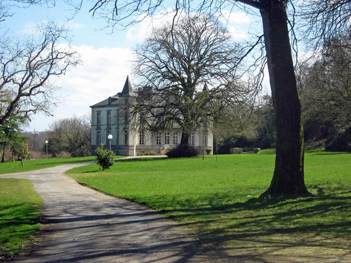 Jardin domaine de Brezal