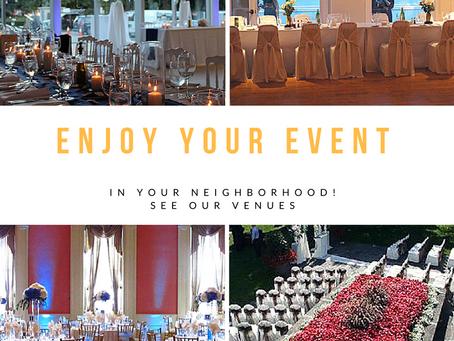 Enjoy Our Venues!