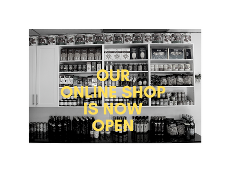 Online Shop Now Open!
