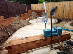 PUTTING IN THE FOUNDATIONS
