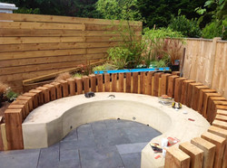 SEATING RENDERED AND PAVING LAID