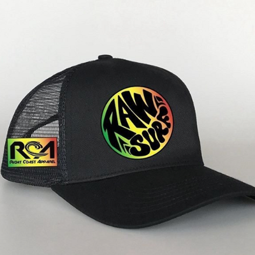 RAW SURF Snap Back Hat
