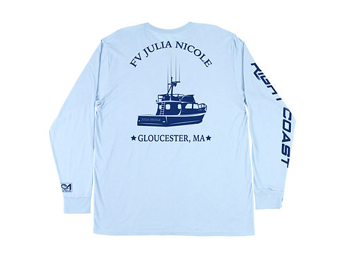 FV Julia Nicole Ice Blue Cotton Long Sleeve