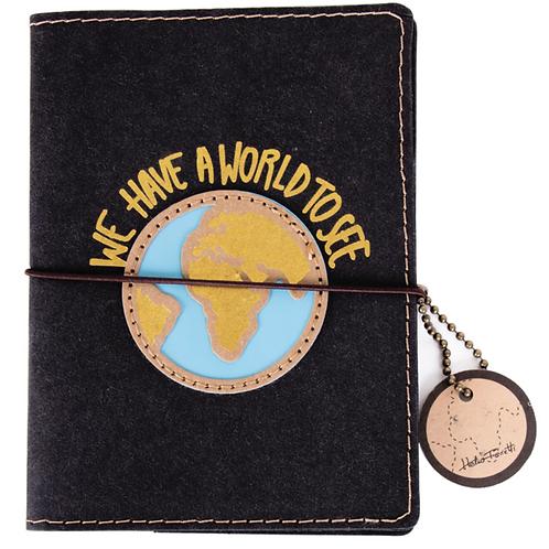 Funda pasaporte 'World'