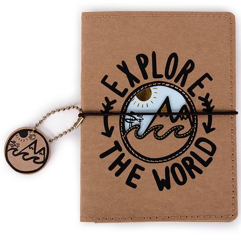 Funda pasaporte 'Explore'