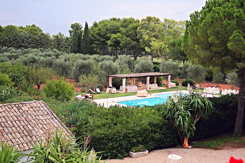 Villa Riggia Matrimonio in piscina