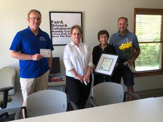 Susan Hultgren of Century 21 Affiliated in Michigan City honored as REALTOR® Emeritus