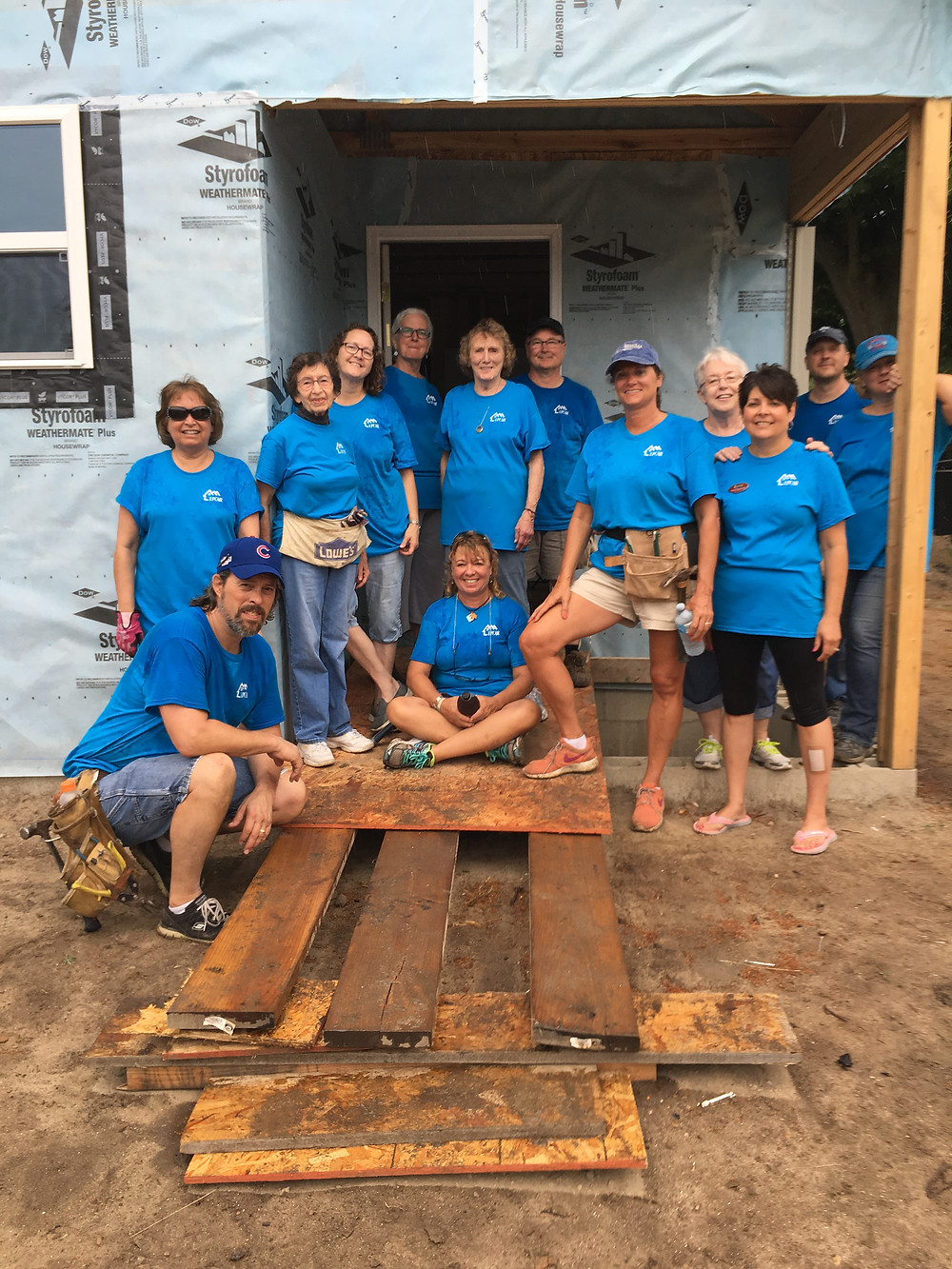 2018 Habitat Build Day