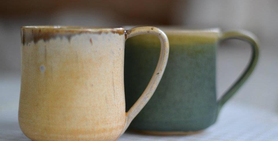 Classic teacups multi-color