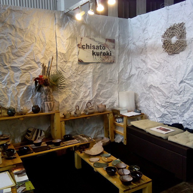 Instagram - Handmade festival stand chisato #ceramicart #ceramica #japon#japan#c