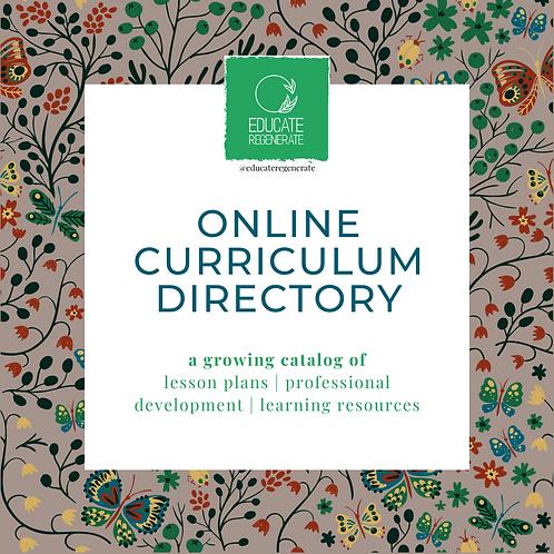 Online Curriculum Directory