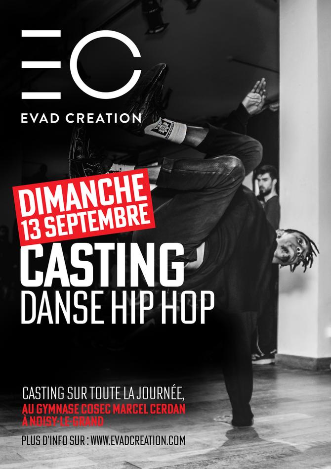 Casting Danse Hip Hop 2020