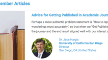 Advice for Getting Published: Be Curious