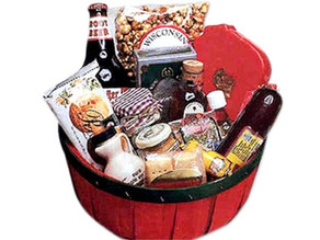 Taste of Wisconsin Gift Basket