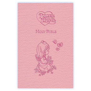 International Children's Bible, Pink Faux Leather Covered Book