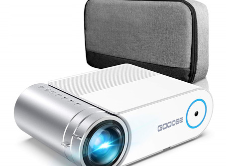 GooDee 2020 Upgrade YG420 Mini Video Projector