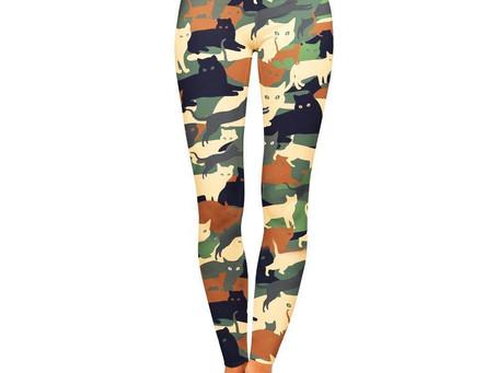 Cat O Flage Leggings