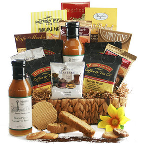 Coffee Cravings Coffee Gift Basket