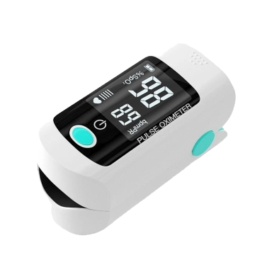 Finger Tip Oxygen Saturation Meter