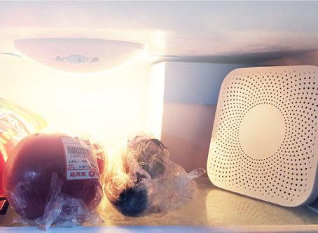 Kitchen Refrigerator Air Purifier Household Ozone Sterilizing Deodorize Device Flavor Filter Core