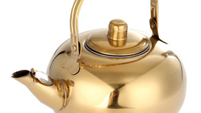 Stainless Steel Tea Pot Kettle Removable Infuser Filter Tea Pot 14/16/18/20cm - 16