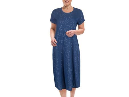 Women's Moisture Wicking Scoop Neck Nightshirt