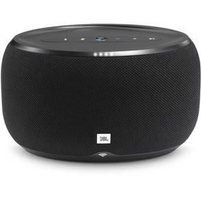 JBL Link 300 Google-Enabled Voice-Activated Wireless Speaker - Black