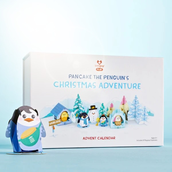 Pop Up Christmas Advent Calendars