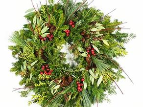 Wreath Factory's Signature Dogwood Wreath