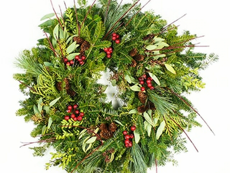 Wreath Factory's Signature Dogwood Wreath